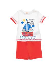 Комплект футболка и шорты Silversun Seas KT118039, 8682113651489