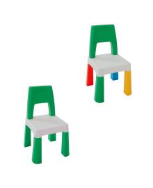 Детский стульчик Poppet Колор Грин (в ассорт)