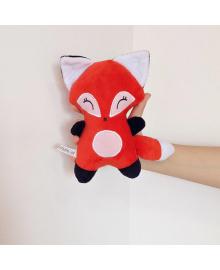 Мягкая игрушка Strekoza малыш Лисенок Фокси 20см красный Ф01 К