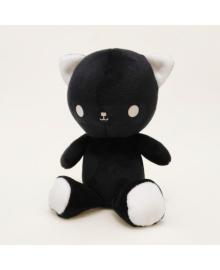 Мягкая игрушка Strekoza котенок Малыш Айси 21см черный АЧ 01