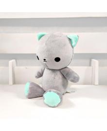 Мягкая игрушка Strekoza котенок Малыш Айси 21см серый АС 01