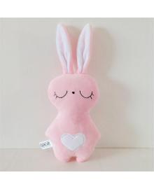 Мягкая игрушка Strekoza Заяц Засыпаяц 18см розовый ЗР 01