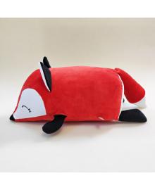 Мягкая игрушка подушка валик Strekoza Фокси 45 см красный средняя Ф 04 КМ