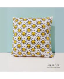 Декоративная подушка с принтом Яичница Strekoza 27см белый Я01
