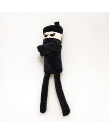 Мягкая игрушка Strekoza Ниндзя 35см черный