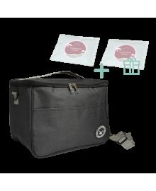 "Набор для ланча: термосумка ""Brivilas"" + многоразовый аккумулятор холода х2"