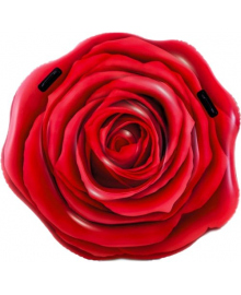 Матрас-плотик надувной Intex Роза 137х132 см (58783)