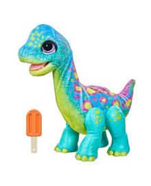 Мягкая интерактивная игрушка Hasbro FurReal Friends Dinosaur Bronto