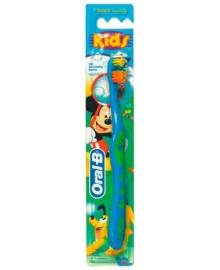 Детская зубная щетка Oral-B Kids, экстрамягкая, синий