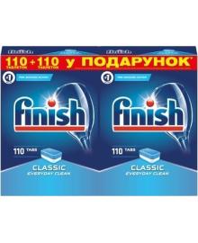 Таблетки для посудомоечных машин Finish Classic, 110+110 шт