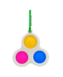 Игрушка-антистресс Shantou Simple Dimple 3-Bubbles