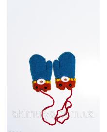 Дитячі рукавички і рукавиці ISSA PLUS 7864 12 місяців бірюзовий