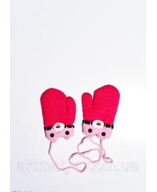 Дитячі рукавички і рукавиці ISSA PLUS 7864 12 місяців кораловий