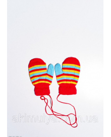 Дитячі рукавички і рукавиці ISSA PLUS 7871 12 місяців червоний