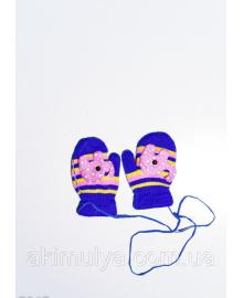 Дитячі рукавички і рукавиці ISSA PLUS 7867 12 місяців електрик