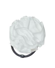 Резинка для волос Maya-MІ Зефирка 6 см белый 0107-0024-6