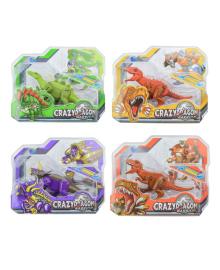 Динозавр-трансформер Shantou Crazy Dragon (в ассорт)