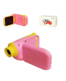 Детская цифровая видео камера C138 с картой памяти (Розовый) C138(Pink)