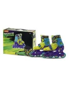 Ролики раздвижные Bk Toys Ltd Disney Turtles c пластиковой рамой, 30-33 р RS0119, 6900351926131