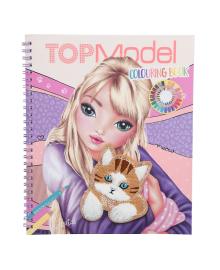 Альбом для раскрашивания TOP Model Котенок