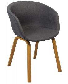 Крісло Bonro B-496 FB сіре (42300068)
