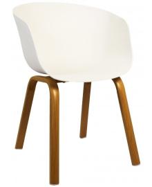 Крісло Bonro B-496 біле (42300066)