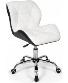 Крісло Bonro B-531 біле + чорне (42300045)