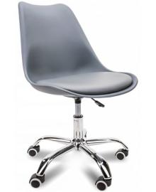 Крісло Bonro B-487 на колесах сіре (42300039)