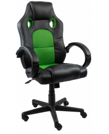 Крісло геймерське Bonro B-603 зелене (40800037)