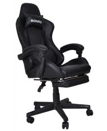 Крісло геймерське Bonro B-2013-1 чорне (40800016)