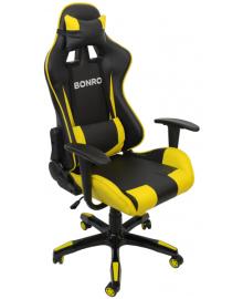 Крісло геймерське Bonro 2018 Yellow (40200003)