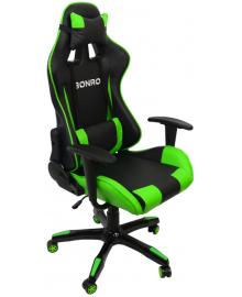 Крісло геймерське Bonro 2018 Green (40200001)