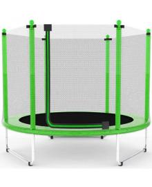 Батут Atleto 152 см з сіткою зелений (5 ft) (21000111)