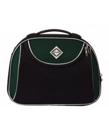 Кейс дорожній Bonro Style середній чорно-зелений (10101410)