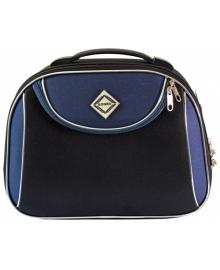 Кейс дорожній Bonro Style середній чорно-темно-синій (10101407)