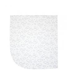 Пеленка унисекс SMIL 119763-1 Белый р.80х90