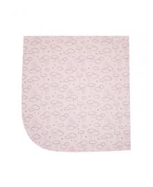 Пеленка для девочки SMIL 119763-1 Персиковый р.80х90