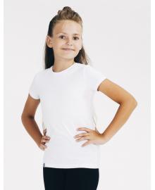 Футболка для девочки SMIL 110539 Белый