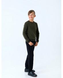 Пуловер для мальчика SMIL 116436 Хаки