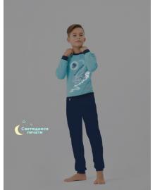 Пижама для мальчика SMIL 104255 Бирюзовый