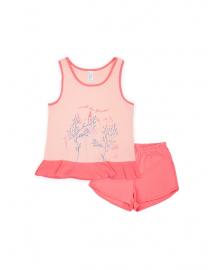 Пижама для девочки SMIL 104394 Розовый персик