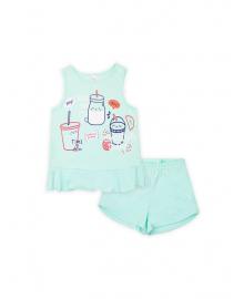 Пижама для девочки SMIL 104394 Ментол
