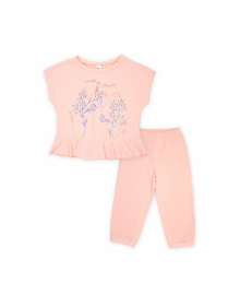 Пижама для девочки SMIL 104395 Розовый персик