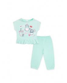 Пижама для девочки SMIL 104395 Ментол