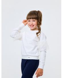 Свитшот для девочки SMIL 116443 Светло-молочный