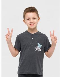 Футболка для мальчика SMIL 110626-1 Серый