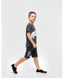 Шорты для мальчика SMIL 112340 Серый