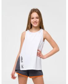Майка для девочки SMIL 110640 Белый