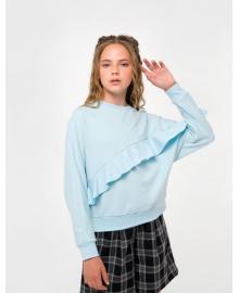 Свитшот для девочки SMIL 116127 Голубой