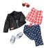 Набор одежды для кукол Оур Дженерейшн Deluxe Стильный кожаный жакет (BD60031Z)